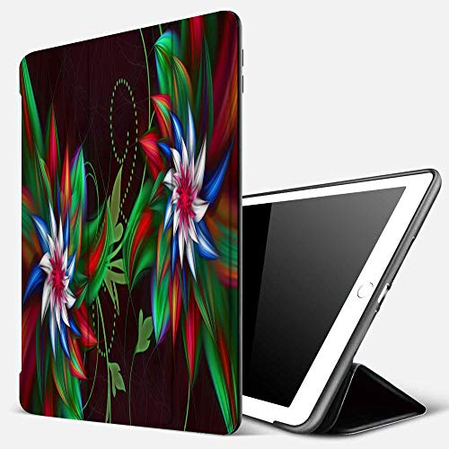 iPad 9.7 inch 2017/2018 Case/iPad Air/Air 2 Cover,Cool 3D Graphics Creative Common,PU Leather Shockproof Shell Stand Smart Cover with Auto Wake