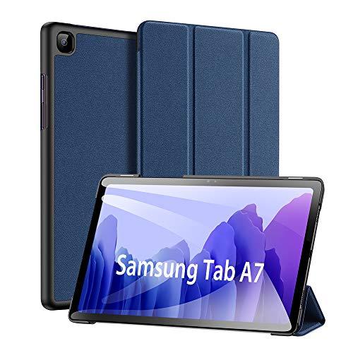 Custodia per Samsung Galaxy Tab A7 10.4 inch 2020, DUX DUCIS Ultra Sottile Magnetica Custodia in Pelle PU Case con Auto Svegliati Sonno per Samsung Galaxy Tab A7 10.4 2020 (SM-T500 505 507) (Blu)