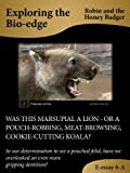 WAS THIS MARSUPIAL A LION – OR A POUCH-ROBBING, MEAT-BROWSING, COOKIE-CUTTING KOALA? (E-essays: Exploring the Bio-edge Book 6)