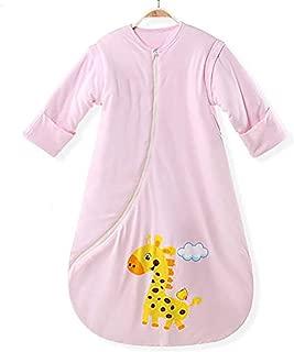 EsTong Baby Toddler Cotton Zipper Sleeper Gowns Wearable Blankets Infants Winter Long Sleeves Sleeping Bag Sacks