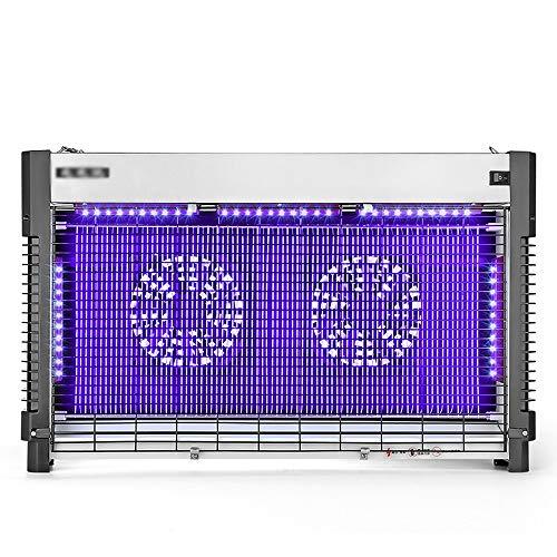 LED Mosquito Killer lámpara |Lámpara Mata Insectos Electrico Comercial |Ventilador De Doble...