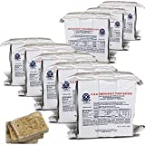 S.O.S. Rations Emergency 3600 Calorie Food Bar - 3 Day / 72 Hour Package with 5 Year Shelf Life- 8 Packs
