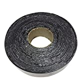 (615) Asphalt Tarmac Parking lot Joint and Crack Sealer Hot Repair Filler Tape 50 FT Long (2 inchs x 50ft Tape)