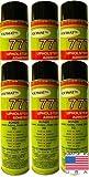 Polymat QTY6 777 Professional Spray Glue Adhesive TACK Bonds Fabric to Metal