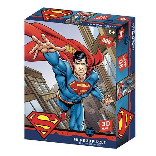 Prime 3D-Redstring-Puzzle lenticular DC Comics Superman 300 Piezas (Efecto 3D)