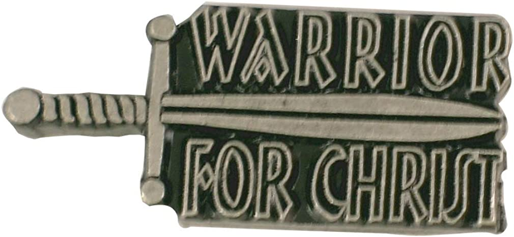 StockPins Warrior for Christ Lapel Pin