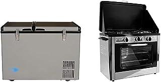 Whynter 62 Quart Dual Zone Portable Fridge, AC 110V/ DC 12V True Freezer for Car, Home, Camping, RV-8°F to 50°F, One Size,...
