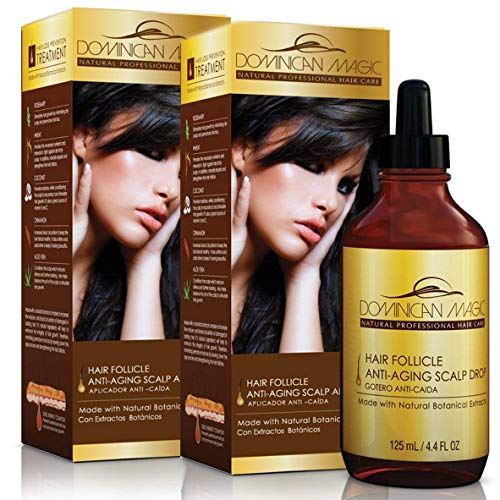 Dominican Magic Hair Follicle Scalp Drops 4.4oz Boxed (2 Pack)