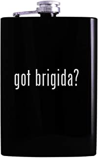 got brigida? - 8oz Hip Alcohol Drinking Flask, Black
