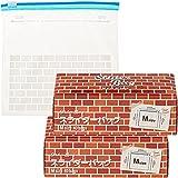 [Amazon限定ブランド] Kurasスライダーバッグ Mサイズ 40枚入×2個(80枚) 冷凍保存対応 【まとめ買い】