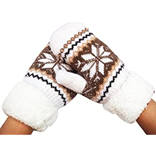 OverDose Women Warm Winter Snow Gloves Mittens