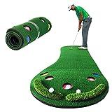 Smaly ゴルフ練習用パターマット パッティングマット 特大サイズ 300×100cm SMALY-GPM1 グリーン/パッティング/アプローチ