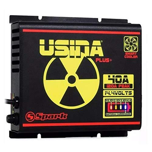 Fonte Automotiva Spark Usina 40a 2000w Battery Meter