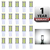 Antline T10 921 194 168 LED Bulbs White 20-Packs, Super Bright 3014 42-SMD LED...