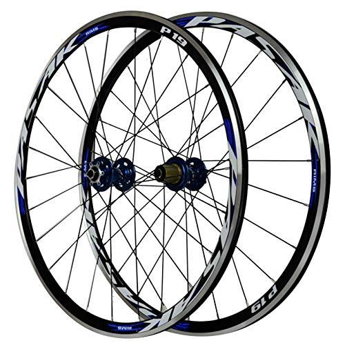 SJLA 700C Fahrrad Laufrad,29 Zoll Vorderrad Scheibenbremse/V-Bremse Doppelschichtiger Rand Aus Aluminiumlegierung...