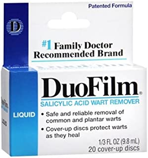 DuoFilm Wart Remover Liquid 0.33 oz (Pack of 2) WLM