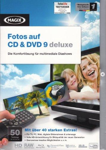 MAGIX Fotos auf CD & DVD 9 deluxe (Minibox)