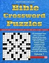 Bible Crossword Puzzles Volume.1