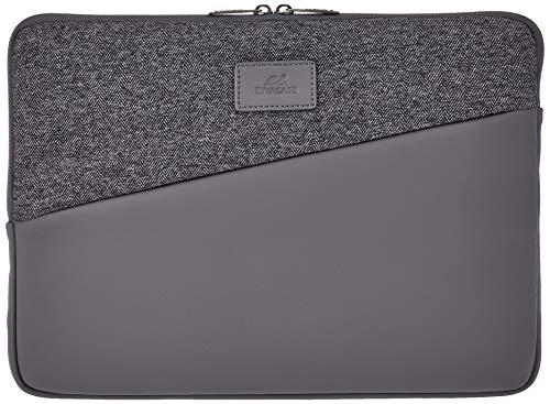 RIVACASE Laptoptasche Notebooktasche Sleeve 13 Zoll Schutzhülle für MacBook Pro 13 / 7903 grau