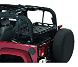 Bestop 4143701 Lower Cargo Rack Bracket System for 2003-2018 Wranglers, excludes Unlimited