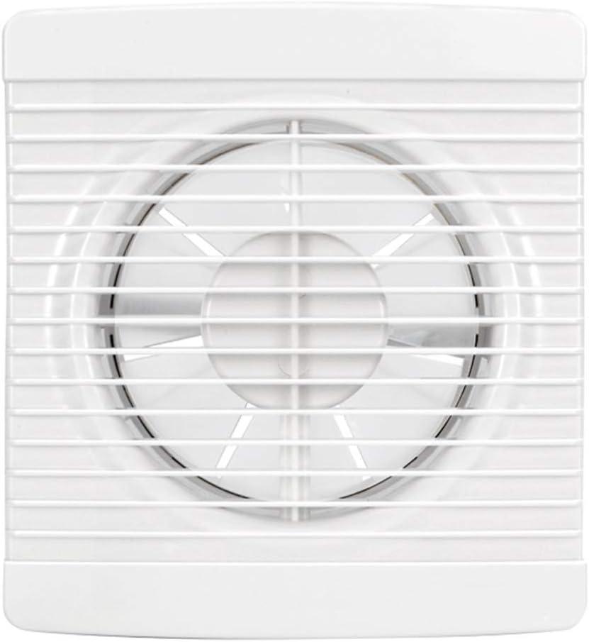 Ventilador de ventilación doméstico Ventilador De Ventilación Específico For Ventanas Potente Consumo De Energía Eólica De Bajo Consumo Adecuado for Cocina/Inodoro LITING (Size : 4 Inches)