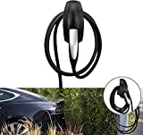 Conexión de Pared de Cable de Carga para Organizador, Compatible con Tesla Model X/Model S/Model Y/Model 3 - Accesorios de Protección para Tesla Charger (Negro)