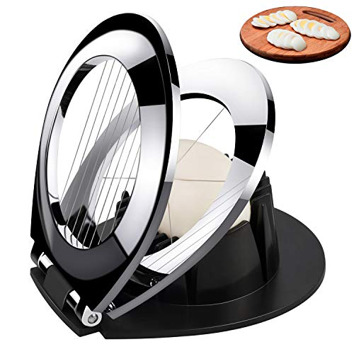 Egg Slicer, Egg Cutter Heavy Duty Slicer for Strawberry Fruit Garnish...