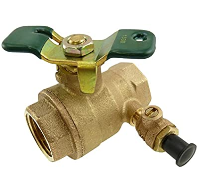 """Watts FBV-TC-TH 1"""" Ball Valve Series, with 1/8"""" Test Cock from Watts"""