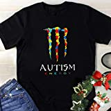 Cute Nice Monster Autism Energy Shirt For Women Men Autism Awareness Day Gift