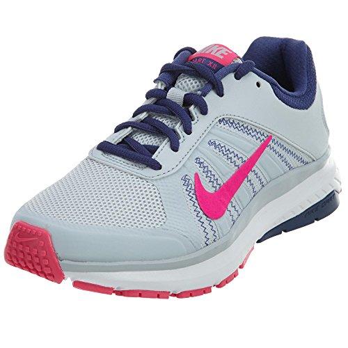Nike Women's Dart 12 MSL Running Shoes Platinum/Pink/Purple 8.5