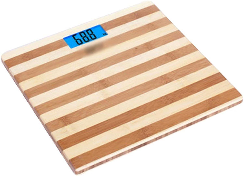 GYZ Elektronische Waage - akkurate Waage für Erwachsene - Elektronische Waage für Nachtsicht-Hintergrundbeleuchtung - Grobild-Gewichtsverlust - Waage - weiblicher Schlafsaal  +-+