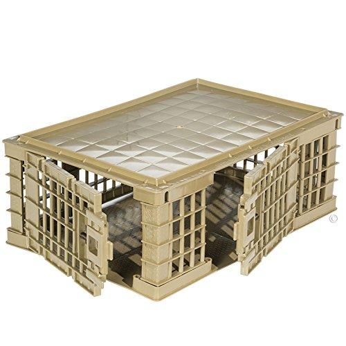 Premier Game Crate Transport Box for Ducks, Quail, Pheasant, Pigeons & Poultry