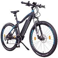 """NCM Moscow Plus Bicicleta eléctrica de montaña, 250W, Batería 48V 16Ah • 768Wh, Negro 29"""""""