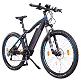 NCM Moscow Plus E-Bike, E-MTB, E-Mountainbike 48V 16Ah 768Wh (27,5' Plus, Schwarz)