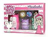 Martinelia Best Friends Forever Animals Set - 1 x Hand Cream, 3 x Lip Balms, 2 x Lip Gloss