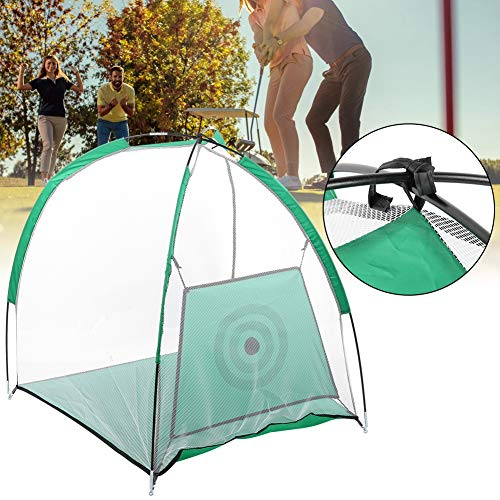 AMONIDA Golf Hitting Cage, Golf Hitting Net, Golf Training Tent, Compact for Home Garden Indoor Outdoor Grassland