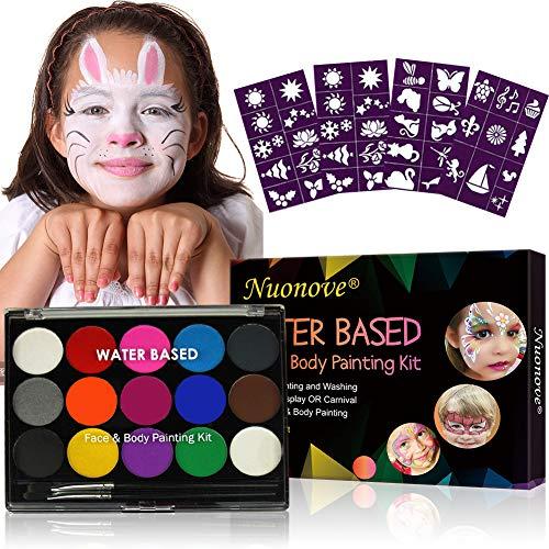 Kinderschminke, Körperfarben Set, Schminkfarben Kinder, Gesichtsfarben Kinder,...