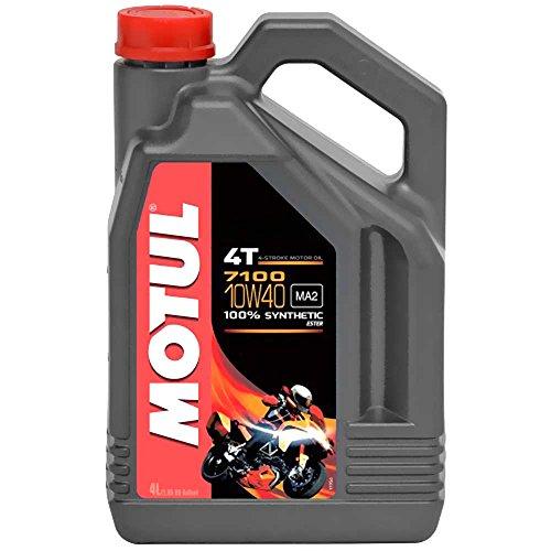 Olio per moto Motul 10W40 4T Syn 7100 4L 104092 3374650247311