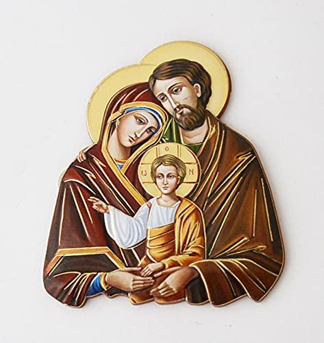 Fotobord met magneet Heilige Familie ook om neer te zetten