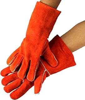 FJFSC Heavy Duty Gardening Gloves, Breathable and Flexible Garden Work Gloves for Men, Women, Durable Leather Safety Work ...