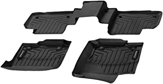 Mercedes Benz OEM All Weather Floor Liners Trays Mats 2016 to 2019 GLE-Class Coupe (Color:Black) GLE450 GLE43 GLE63