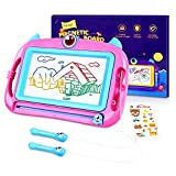 Peradix Magnetic Drawing Boards, Doodle Scribble Writing Board Colorful Pad Education Learning Toys