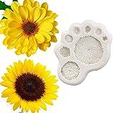 SHUHUI Gänseblümchen Sonnenblumen Staubblatt Silikonform Fondantform Kuchen...