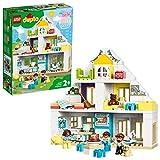 LEGO DUPLO Town Ensemble Maison modulable 3in1, Maison de poupées pour filles et garçons de 2 ans et plus avec personnages et animaux pour tout-petits, 117 pièces, 10929
