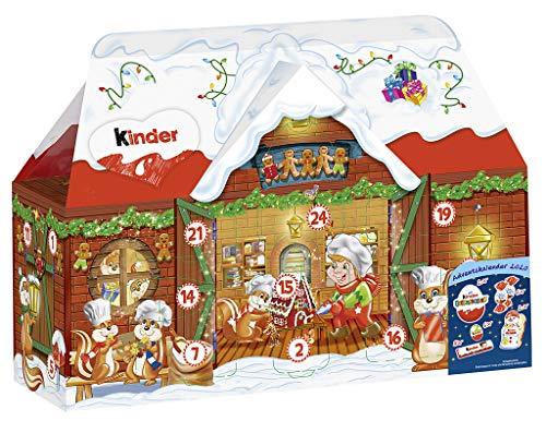kinder Mix Adventskalender 3D Haus, in zwei Designs, 1 Pack (1 x 234 g)