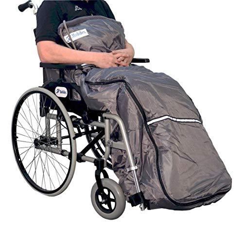 FabaCare Schlupfsack für Rollstuhl- und Scooterfahrer Kangaroo, Medium, Thermo-Kniedecke, Rollstuhldecke, Beinschutzdecke