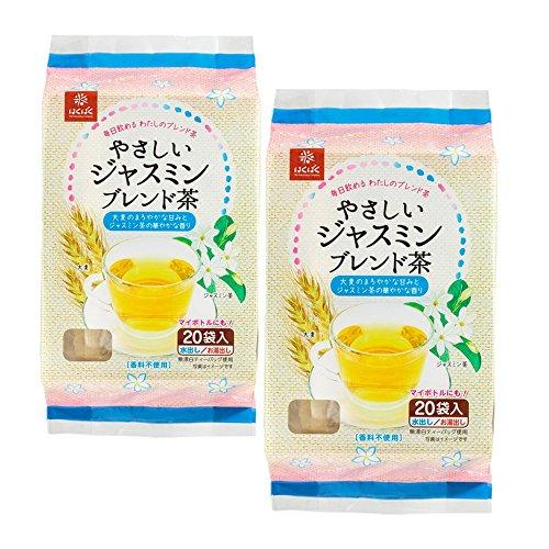 はくばくやさしいジャスミンブレンド茶140g×2袋