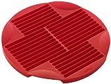 Lékué Rojo Molde para Sticks de Pan, Silicona, 25 cm