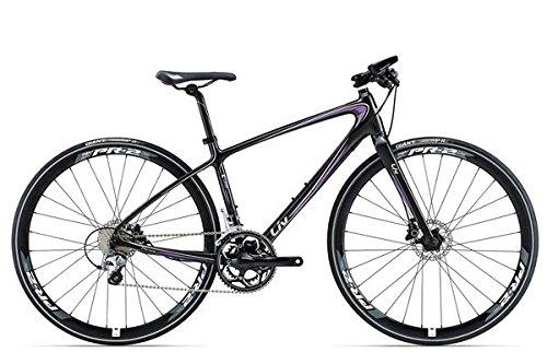 Liv Thrive Comax 1 28 Zoll Fitnessbike Damen Schwarz/Violett (2016), 38