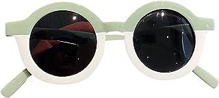 boode - Gafas de Sol polarizadas para niños - Moda para niños Ocio al Aire Libre Marco Redondo polarizado Colores Lindas Gafas de Sol, niños Flexibles UV-400 Gafas de Sol polarizadas para Edades 5-12
